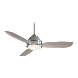"Minka Aire - Minka Aire F516-BN Concept I Brushed Nickel 44"" Ceiling Fan with Remote Control - Features:"