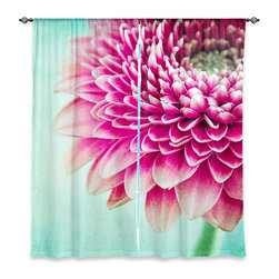 "DiaNoche Designs - Window Curtains Lined by Iris Lehnhardt Colorful Spring - Purchasing window curtains just got easier and better! Create a designer look to any of your living spaces with our decorative and unique ""Lined Window Curtains."" Perfect for the living room, dining room or bedroom, these artistic curtains are an easy and inexpensive way to add color and style when decorating your home.  This is a woven poly material that filters outside light and creates a privacy barrier.  Each package includes two easy-to-hang, 3 inch diameter pole-pocket curtain panels.  The width listed is the total measurement of the two panels.  Curtain rod sold separately. Easy care, machine wash cold, tumble dry low, iron low if needed.  Printed in the USA."