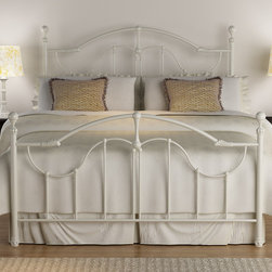 Roxie Antique White Queen-size Bed -