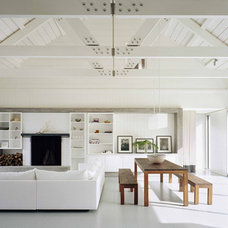 Modern Family Room by Murdock Solon Architects
