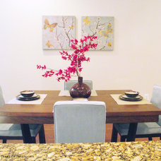 Contemporary Dining Room by Parker Interiors Staging and Redesign