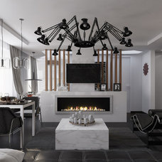 Contemporary Rendering by S&A Decor