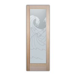 door inserts. .Block the view, but brighten the look with a beautiful ...