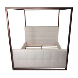 Contemporary Hollywood Canopy Bed - King - $8,000 Est. Retail - $3,500 on Chairi -