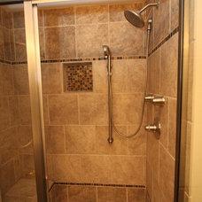 Modern Bathroom by Tabor Design Build, Inc.