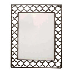 """GG Collection - GG Collection Ogee-G Bulletin Board - Dimensions: 24.25""""w x 1.5""""d x 30""""h"""
