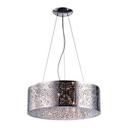 Bromi Design - Bromi Design Royal 9 Light Round Pendant - Bromi Design Royal 9 Light Round Pendant