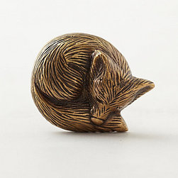 Anthropologie - Forest Critter Knob, Fox - I am loving these little fox knobs. They will jazz up any old or new piece of furniture and make it feel custom.