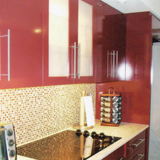 Contemporary Kitchen by Eclipse Designs Inc. by Celina Basagoitia