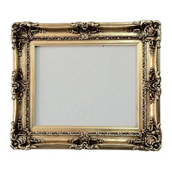Fancydecor - Gold decorative mirror picture frame with gold leaf 16x20 - 2008 Frame Mirror