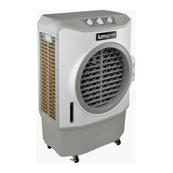 Luma Comfort - Luma EC220W Comfort High Power Evaporative Cooler - This portable evaporative cooler is both compact and powerful with a cooling area of up to 650 square feet. Three speeds and adjustable cooling allows you to control your climate with a unit small enough to move anywhere you want to beat the heat.