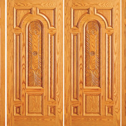 "Prehung Mahogany Arch Lite Entry Double Door Two Sidelights - SKU#    525-CP-2-2-GBrand    AAWDoor Type    ExteriorManufacturer Collection    Unique Entry DoorsDoor Model    Door Material    WoodWoodgrain    MahoganyVeneer    Price    3620Door Size Options    2(30"")+2(12"") x 80"" (7'-0"" x 6'-8"")  $02(30"")+2(18"") x 80"" (8'-0"" x 6'-8"")  $02(32"")+2(12"") x 80"" (7'-4"" x 6'-8"")  $02(32"")+2(18"") x 80"" (8'-4"" x 6'-8"")  $02(36"")+2(12"") x 80"" (8'-0"" x 6'-8"")  +$202(36"")+2(18"") x 80"" (9'-0"" x 6'-8"")  +$202(42"")+2(12"") x 80"" (9'-0"" x 6'-8"")  +$3402(42"")+2(18"") x 80"" (10'-0"" x 6'-8"")  +$3402(30"")+2(18"") x 84"" (8'-0"" x 7'-0"")  +$3522(36"")+2(18"") x 84"" (9'-0"" x 7'-0"")  +$3922(42"")+2(18"") x 84"" (10'-0"" x 7'-0"")  +$8322(30"")+2(12"") x 96"" (7'-0"" x 8'-0"")  +$7922(30"")+2(18"") x 96"" (8'-0"" x 8'-0"")  +$7922(32"")+2(12"") x 96"" (7'-4"" x 8'-0"")  +$7922(32"")+2(18"") x 96"" (8'-4"" x 8'-0"")  +$7922(36"")+2(12"") x 96"" (8'-0"" x 8'-0"")  +$8322(36"")+2(18"") x 96"" (9'-0"" x 8'-0"")  +$832  $Core Type    SolidDoor Style    TraditionalDoor Lite Style    Arch LiteDoor Panel Style    Hand Carved Panel , 8 Panel , Raised MouldingHome Style Matching    Colonial , Plantation , VictorianDoor Construction    Engineered Stiles and RailsPrehanging Options    PrehungPrehung Configuration    Double Door with Two SidelitesDoor Thickness (Inches)    1.75Glass Thickness (Inches)    3/4Glass Type    Triple GlazedGlass Caming    BlackGlass Features    Insulated , TemperedGlass Style    Glass Texture    Glue ChipGlass Obscurity    Moderate ObscurityDoor Features    Door Approvals    FSCDoor Finishes    Door Accessories    Weight (lbs)    1190Crating Size    25"" (w)x 108"" (l)x 52"" (h)Lead Time    Slab Doors: 7 daysPrehung:14 daysPrefinished, PreHung:21 daysWarranty    1 Year Limited Manufacturer WarrantyHere you can download warranty PDF document."