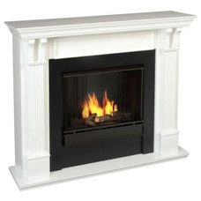 Contemporary Indoor Fireplaces by Home Depot