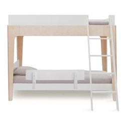 Oeuf - Perch Bunk Bed Security Rail, White, By Oeuf - A guardrail is a great safety measure for children while they are adjust to sleeping in a full-sized bed. This sleek version fits Oeuf's Perch bunk bed and is perfect for ensuring your little one won't fall out of bed while deep in sleep. It's an important security measure for any young child.