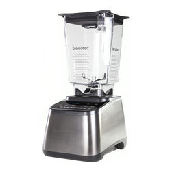 Blendtec - Blendtec - Designer 725 Stainless Steel with Wildside+ Jar - 725 - The World's Smartest Blender