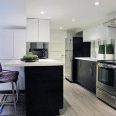 Modern Kitchen by MAJ Interiors