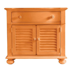 Stanley Furniture - Coastal Living Retreat-Summerhouse Chest - Versatile and beachy, this chest provides bedside style.