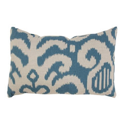 Pillow Perfect - Pillow Perfect Fergano Aqua Rectangular Throw Pillow Multicolor - 472751 - Shop for Pillows from Hayneedle.com! Add vibrant color and bold style to your space with the Fergano Rectangular Throw Pillow in Aqua. A reversible aqua and cream pattern gives this pillow a laid back style the smooth all cotton cover makes it comfortable and the polyester fiber fill lends a plush feel. About Pillow PerfectPillow Perfect was founded by Paul and David Ratner two brothers with a passion for comfortable design stylish functionality and a commitment to pleasing their customers. With over 25 years in the business the founders of Pillow Perfect operate just North of Atlanta Georgia and have been producing products that add style and color to home and patios across the US. Keeping up with styles trends consumer needs and quality assurance makes them a major player in the industry. Their manufacturing facility brings all their ideas together and makes them a reality for customers all over the country and through drop-ship online retailers all over the world.