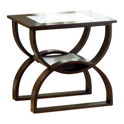 Steve Silver Company - Steve Silver Company Dylan End Table in Cherry Finish - Steve Silver Company - End Tables - DY300E