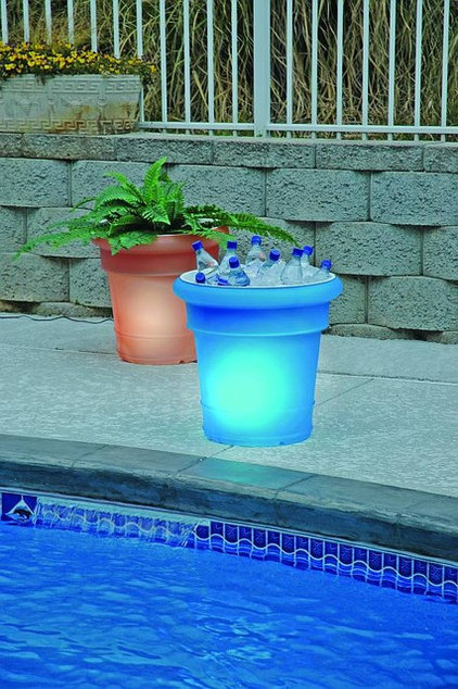Modern Outdoor Planters by BackyardCity