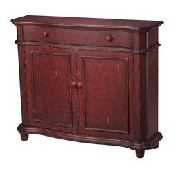 Sterling Lighting - Forest Knolls Cabinet - One drawer. Two doors. Made from wood. 48 in. W x 13 in. D x 40 in. H