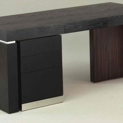 Custom Contemporary Furniture - The Arni Desk - This sleek, stylish, yet simple design is perfect for creating a contemporary statement. Update your home office with this stunning workspace!