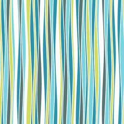 WallsNeedLove - Removable Wallpaper - Cool Waves - Our Cool Waves Removable Wallpaper is a smooth and relaxing design that features beach-y colors and enticing curves. Adding removable wallpaper to your space is much simpler than painting.
