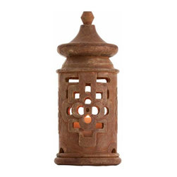 "Arteriors - Arteriors Home - La Flor Lantern - DK5000 - Arteriors Home - La Flor Lantern - DK5000 Features: La Flor Collection Lantern Some Assembly Required. Dimensions: H 20""x 9"" Dia"