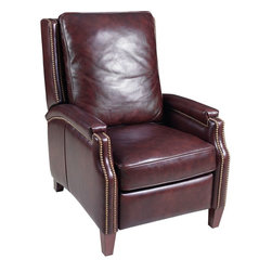 Hooker Furniture - Hooker Furniture Tara Chapel Recliner - Developed by one of America's premier manufacturers to offer quality furniture at affordable prices. Each piece is meticulously hand-crafted using the most exquisite leathers in the world. The Tara Chapel Recliner is crafted using Tara Chapel leather.