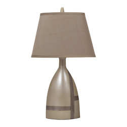 Signature Design by Ashley - Mia 3-Way Table Lamps, Beige, Set of 2 - Famous Brand Lamps presents the Set of (2) 1-Light Mia Table Lamps, featured in Beige Brown finish and complemented by a Brown Hard back Shade, creating a harmonious and captivating ambience in the home