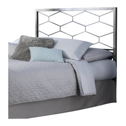 Fashion Bed - Fashion Bed Camden Headboard in Golden Frost-King size - Fashion Bed - Headboards - B12A26 - The Camden Bed offers a clean, sharp, unique look that quickly updates and changes your space. With square metal rails and posts and a fresh geometric design, the Camden Bed complements your contemporary decor with high-class style. The Camden Bed is finished in golden frost, a silvery base with gold-toned, hand applied sponging which creates a richly aged finish that complements its graceful lines. The Camden Bed is available in full, queen, and king sizes to accommodate any bedroom.