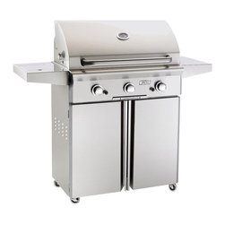 American Outdoor Grill - Portable NG Grill with 540 sq. in. Cooking Area - AOG Portable Outdoor Grills can be used on the patio, deck, by the pool, in the shade, or just about anywhere! All heavy duty stainless steel construction