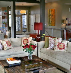 modern living room by Jenny Baines, Jennifer Baines Interiors