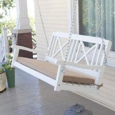 Modern Outdoor Swingsets by Hayneedle