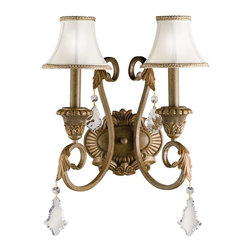 Kichler Lighting - Kichler Lighting 6504RVN Ravenna Traditional Wall Sconce In Ravenna - Kichler Lighting 6504RVN Ravenna Traditional Wall Sconce In Ravenna