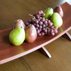 The Platter, Recycled Oak Wine Barrel Staves large centerpiece - Our gorgeous platter makes a magnificent centerpiece, and its versatility allows you to integrate it in your home decor in several creative ways, displaying flowers, crystals, candles, beads, wedding favors, cards or...sushi!