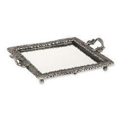 IMAX CORPORATION - Lacina Brass Mirror Tray - Lacina Brass Mirror Tray. Find home furnishings, decor, and accessories from Posh Urban Furnishings. Beautiful, stylish furniture and decor that will brighten your home instantly. Shop modern, traditional, vintage, and world designs.
