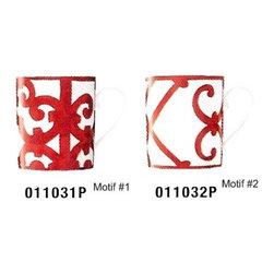 Hermes - Hermes Balcons Du Guadalquivir Red Mug No 2 - Hermes Balcons du Guadalquivir Red Mug No 2