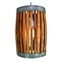 Wine Country Craftsman - CRAFTSMAN - Nacelle - Pendant Light - CRAFTSMAN - Nacelle - Pendant Light -- 100% Recycled
