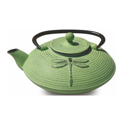 Old Dutch International - Placidity Teapot (Lavender) - Color: Lavender1.63 lbs. capacity. Enameled interior. SS infuser. Made from cast iron. No assembly required. 7 in. Dia. x 6 in. H (6 lbs.)