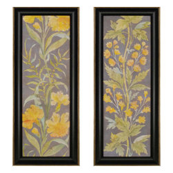 Paragon - June Florals PK/2 - Framed Art - Each product is custom made upon order so there might be small variations from the picture displayed. No two pieces are exactly alike.