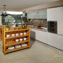 contemporary kitchen - Simple and elegant design, can be customized