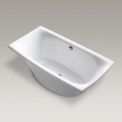 "KOHLER White Escale® 72"" X 36"" Freestanding Bath"