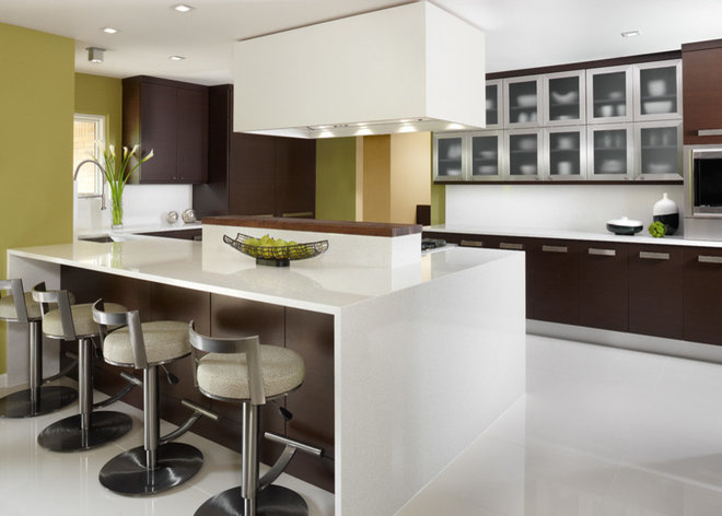 Contemporary  by k.c. interiors inc