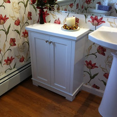 Traditional Bathroom Storage by KJS Custom Works
