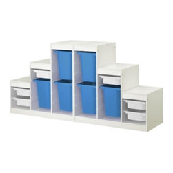Studio Copenhagen - TROFAST Storage combination - Storage combination, white, multicolor