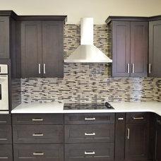 Modern Tile by 21st Century Kitchen & Bath
