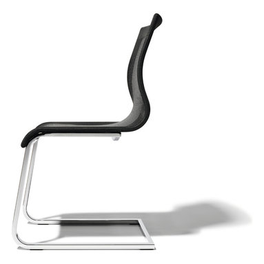 Magnum modern dining chair - Award-winning beautiful, exceedingly comfortable luxury curved dining room chair, made to very high design, function and ecological standards.