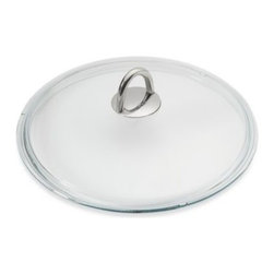 "Wmf - WMF Silit 9.5-Inch Fry Pan Glass Lid - This tempered glass cover is designed to snugly fit 9.5"" diameter open fry pans to help seal in moisture and nutrients. Ideal for low water, energy-saving and full view cooking, it comes complete with a stainless steel handle for ease of use."