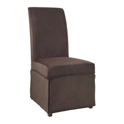 """Powell - Powell Mink Brown Velvet Skirted """"Slip Over"""" Slipcover X-Z652-147 - Designed exclusively for our """"Slip Over"""" Seating, this soft, inviting slipcover retains its smooth fit and removes easily for cleaning or changing. The Mink Brown Velvet Skirted """"Slip Over"""" is a great way to make your existing furniture new and different. Featuring Mink Brown solid pattern fabric - 70% polyester, 30% rayon, this """"Slip Over"""" is appealing and attractive and would make a great addition to your home.  For use with 741-440 chair."""